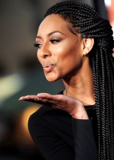Miss Keri rocks with box braids (she motivates me)