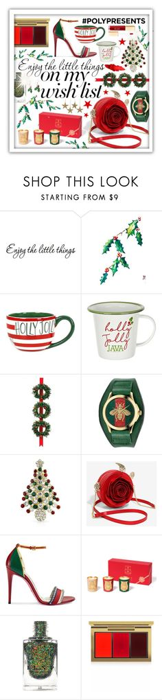 """""""#PolyPresents: Wish List"""" by beanpod ❤ liked on Polyvore featuring Coton Colors, Grandin Road, Gucci, Bling Jewelry, Cire Trudon, MAC Cosmetics, contestentry and polyPresents"""