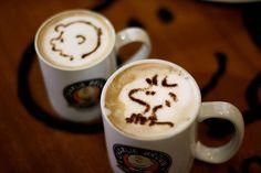 Sisters and the City: Arte en tu taza de café : coffee art