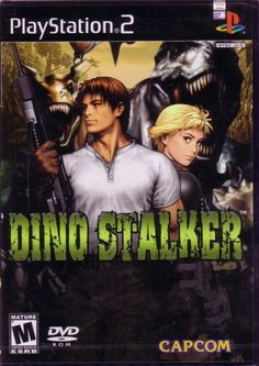 Dino Stalker (Sony PlayStation for sale online Playstation 2, Ps4, Juegos Ps2, Xbox One, Dino Crisis, Strange Beasts, Game Gem, School Games, Vintage Games