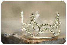 Her Royal Highness Mini Rhinestone Tiara Princess Crown Metal Rhinestones Silver Birthday Party Queen Of Hearts on Etsy, $20.00