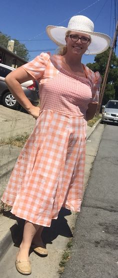 I finally completed the 1940s gingham dress! Originally meant to be worn at my son's birthday on May 7th… I decided to put this project away until my life calmed down a bit. And t…