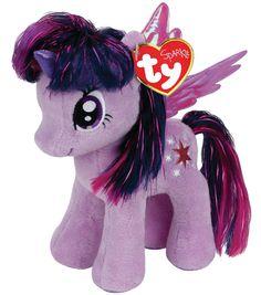 Ty Beanies My Little Pony Twilight Sparkle Purple