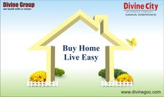 Better Home is the key to experience easy & comfortable living. So, book dream home in #DivineCity to satisfy yourself.