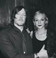 Emily kinney and norman reedus emily kinney norman reedus see more 2 2