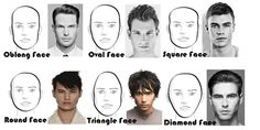 Hair style depends on face shape. Hair stylist cut hair based on customer's face shape and overall look. Style your hair, which suits your personality.