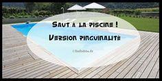 Un saut dans la piscine plutôt incroyable ! Digne de la #pinguinalité de #infolites ! http://www.infolites.fr/saut-dans-la-piscine/