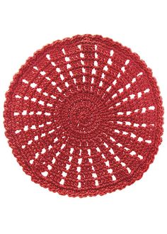 """A celebration of color and pattern, our crochet doilies are stylish and practical, no home should be without them! Take advantage of their indoor/outdoor functionality that is fun and easy-care. Use them alone or in multiplies depending on your need. All our doilies are created by artisans who hand-crochet each piece with care using durable polypropylene yarn. DETAILS - Doily measures 10"""" - Hand-crocheted - Uses include - doily - charger - Polypropylene yarn - repels water - colorfast…"""