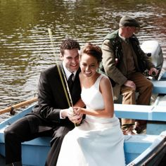 Float down the River Liffey on your wedding day...