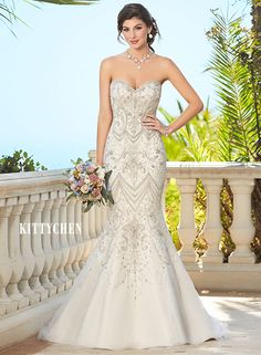 Wedding Dresses | Bridal Gowns | KittyChen - Alycia #kittychen