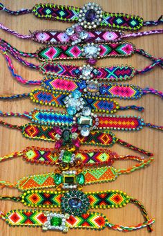 Okay, so recently, I've become OBSESSED with friendship bracelets. This is really bad guys. It's an addiction.