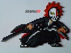 Bleach - 05 Ichigo Hollowification Bankaï perler beads hama by Sidorus00