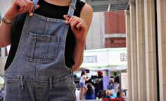Are you wearing overalls?  #overalls #fashion #ootd #summer gin & pearls