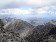 Skye - view from Blaven.