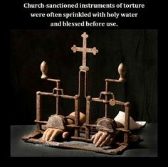 Horrors in the name of God... The history of the Catholic Church is horrifying!