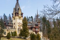 Visit the Peles Castle, the most beautiful castle in Romania