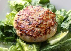 Swordfish Burgers with Lemon Vinaigrette | Skinnytaste