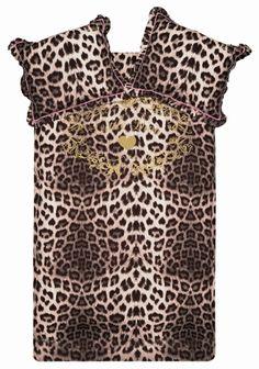 Little Diva Dekbedovertrek Leopard Love
