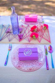 Galaxy Wedding, Purple Wedding, Wedding Flowers, Alternative Wedding, Romantic Weddings, Colorful Decor, Wedding Table, Post Wedding, Event Decor