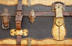 "Steampunk Luggage 56"" fabric by implexity on Spoonflower - custom fabric"