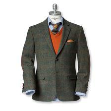 Attraktives Tweed-Sakko von Charles Robertson      bestellen - THE BRITISH SHOP…