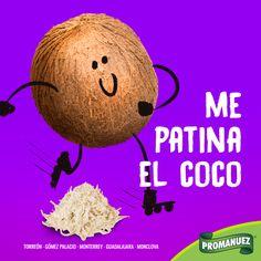"""Que no se te """"patine el coco"""" los mejores ingredientes y frutos secos están en Promanuez México www.promanuez.com.mx"""