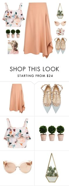"""""""// u n t i t l e d #1051 //"""" by theonlynewgirl ❤ liked on Polyvore featuring Rosetta Getty, Valentino, New Look and Linda Farrow"""