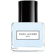 Marc Jacobs Rain Splash Eau de Toilette ($62) ❤ liked on Polyvore featuring beauty products, fragrance, beauty, makeup, perfume, filler, no color, perfume fragrances, flower perfume and flower fragrance