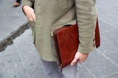 Handbag by IL BISONTE