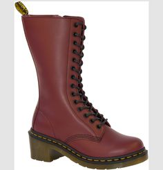 Dr Martens' Ana Cherry Red Boots