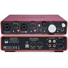 Focusrite Scarlett 2i4 2 Input - 4 Output USB Audio Interface with MIDI