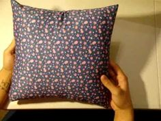 How to make an Envelope Pillow Cover! Super easy!
