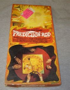 Parker Brothers Prediction Rod Vintage Psychic Game Complete 1970