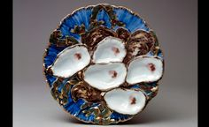 Oyster plate, Haviland & Co., 1880. The White House