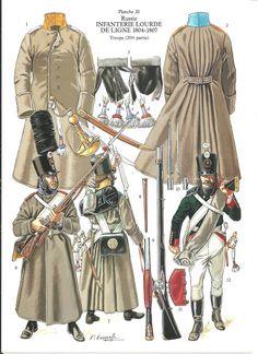 Russie infanterie lourde 1804_07
