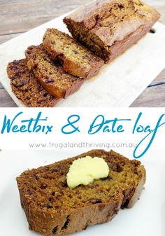 Weetbix Date Loaf Recipe Saving Money Tips Food recipes 2 gluten free weet bix calories - Gluten Free Recipes Loaf Recipes, Baking Recipes, Cake Recipes, Dessert Recipes, Desserts, Healthy Treats, Healthy Baking, Healthy Food, Healthy Lunches