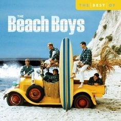 """Early 1960s photo of The Beach Boys on a 2005 """"best of"""" compilation album by EMI, featuring """"Ten Best"""" songs."""