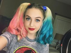 """24k Likes, 244 Comments - supermaryface (@suprmaryface) on Instagram: """"Just filmed a video about my new Harley hair  no I didn't dye my actual hair (I wouldn't do that…"""""""