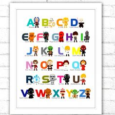 Are you looking for Star Wars Alphabet Print? We have sorted out the best Star Wars gifts in the universe so that you don't need to go to galaxy far far away. Check our top picks now. Star Wars Kids, Star Wars Art, Stormtrooper Art, Star Wars Classroom, Star Wars Outfits, Alphabet Print, Star Wars Rebels, Gifts For Kids, Stars