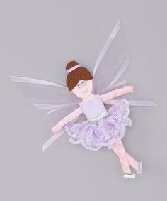 Take a look at this Purple Fairy Clip by Picture Perfect Hair Bows on   zulily. Mašle Do VlasůDětské ... a7d196cb1f