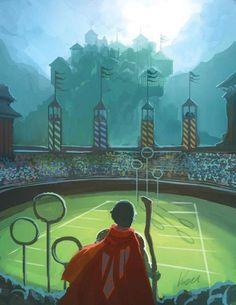Quidditch Pitch.
