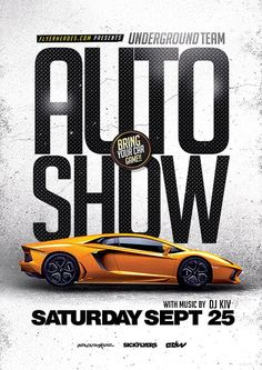 Auto Show Flyer Template - http://ffflyer.com/auto-show-flyer-template/ Enjoy downloading the Auto Show Flyer Template created by FlyerHeroes #Auto, #Automobile, #Business, #Car, #Club, #Dealer, #Event, #Gear, #Party, #Promo, #Promotion, #Ride, #Show