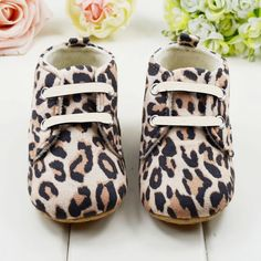 >> Click to Buy << Cute Baby Girls First Walkers Lace Up Cotton Infant Stylish Toddler Leopard Shoes #Affiliate