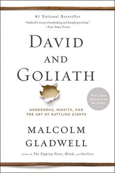 David and Goliath: Underdogs, Misfits, and the Art of Battling Giants by Malcolm Gladwell http://smile.amazon.com/dp/0316204374/ref=cm_sw_r_pi_dp_c-aPwb0PDZTXS