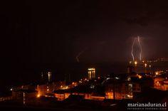 Electrical Storm, Valparaíso - Chile.