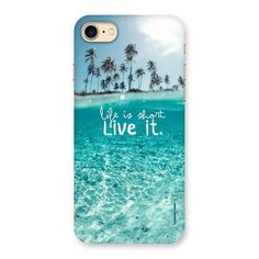 Life Is Short Back Case for iPhone 7 | Mobile Phone Covers & Cases in India Online at CoversCart.com