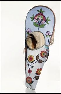 Salish (Flathead) cradleboard about 1880 National Museum of the American Indian