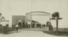 South Beach Bridge 1907 St. Augustine, FL #vintage #staugustine #floridahistory #southbeachbridge
