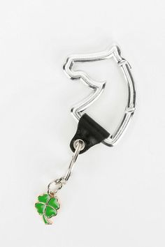 #UrbanOutfitters          #Apparment #Games         #clever #carabiner #content #shamrock #handy #zinc #polyurethane #hinge #alloy #spot #charm #horse #shape #clean #keychain #exclusive #accent #faux #width #iron #spring #length #care #aluminum                Ecote Horse Carabiner Keychain                      Handy carabiner in a clever horse shape with a spring hinge at the top. Topped with a faux leather accent and a shamrock charm. UO Exclusive.  CONTENT   CARE - Aluminum, iron, zinc…