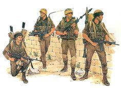 • Paratrooper MAGist  • Paratrooper Grenadier  • Paratrooper Grenadier  • Paratrooper NCO  Ronald Volstad